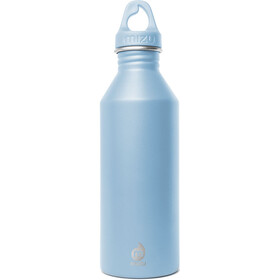 MIZU M8 Bottle with Light Blue Loop Cap 800ml blue